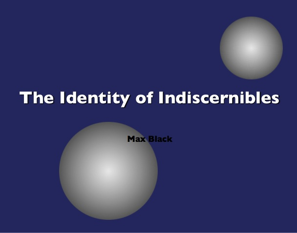 Identity of Indiscernibles